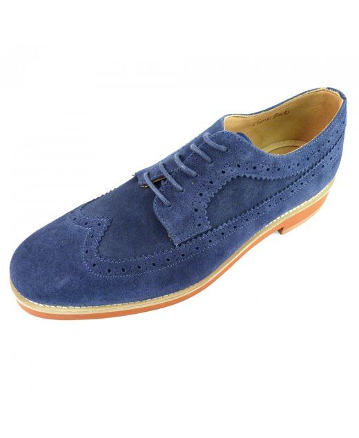 16a5a35831 Gant Willow Suede Shoe Navy blue Lace up & logo on heel Suede Hand crafted  in Portugal £154.95