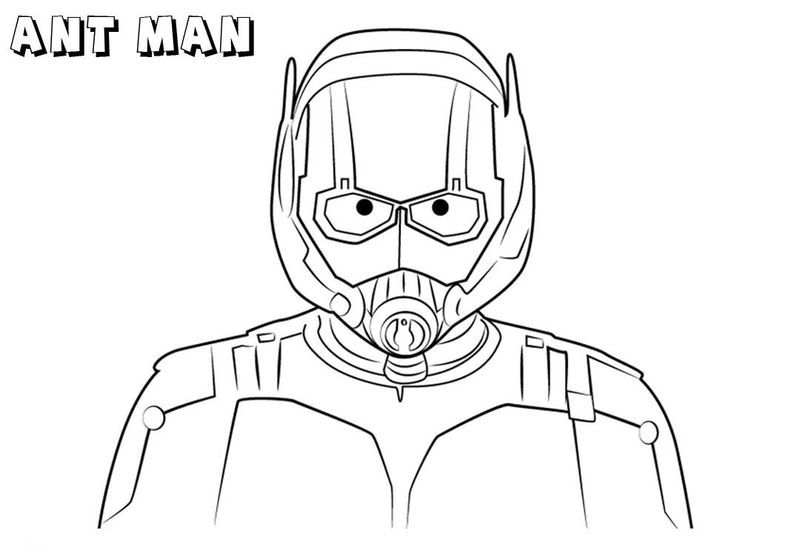 Marvel Ant Man Coloring Page Avengers Coloring Pages Avengers Coloring Coloring Pages
