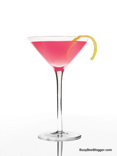 Cocktail Recipe Tickled Pink Martini Nyfw Approved Pink
