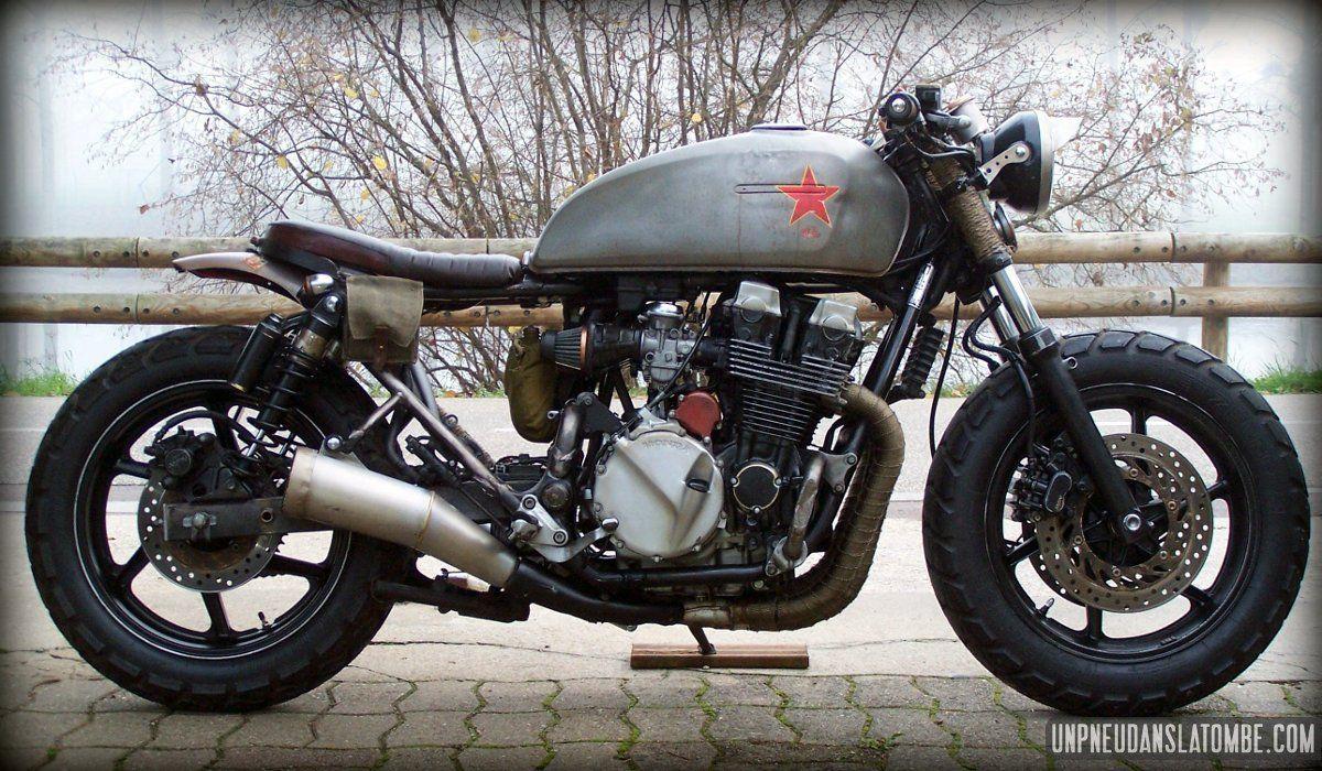 Honda CB 750 Seven Fifty Babushka Krassivaia