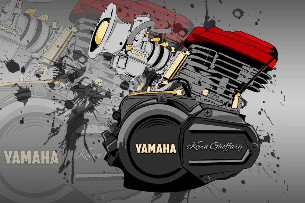 Engine Rx King Featuring Uma Racing Yamaharxking Yamaharxkingindonesia Rxkingviral Rxking135cc Rxkingnusantar Instagra Di 2021 Desain Stiker Desain Logo Gambar