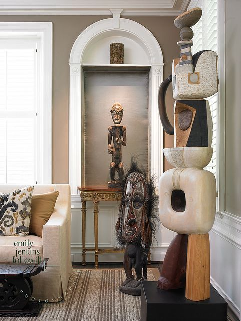 African American Living Room Apartment Decor: African Home Decor Ideas. African Interiors. Contemporary