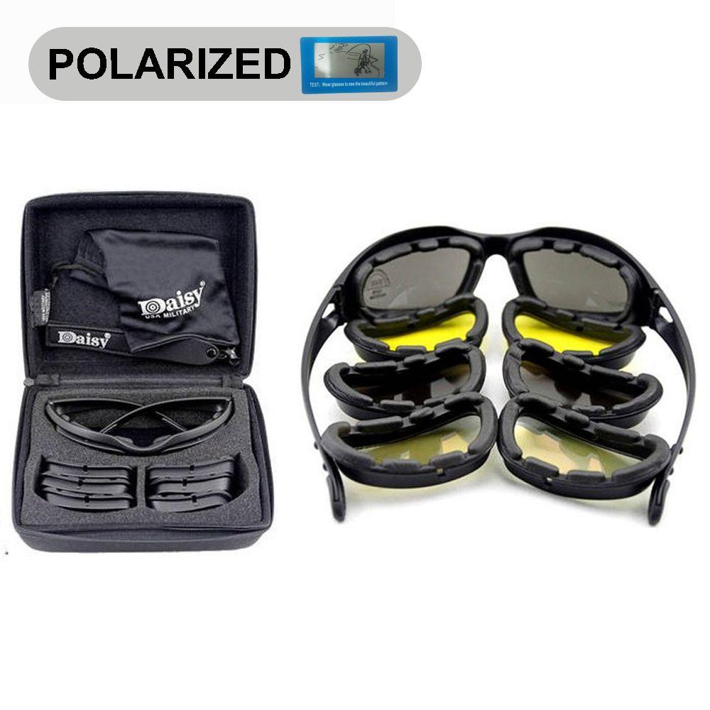 213e1ac63a Daisy C5 Polarized Tactical Army Goggles   Sunglasses Military Sun Glasses  Latest Fashion