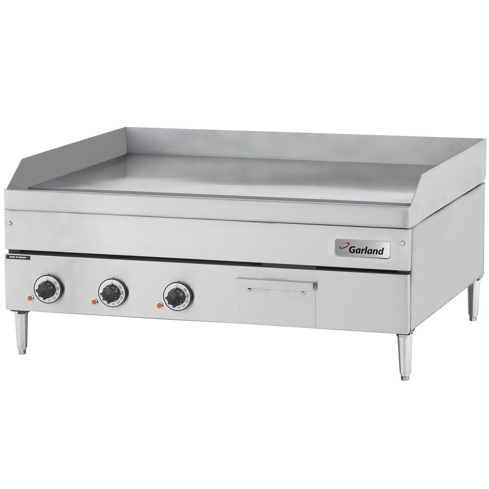 Garland E24 36g 36 Heavy Duty Electric Countertop Griddle 208v