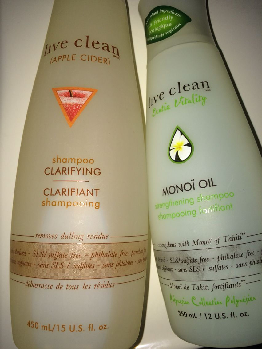 Live Clean Shampoos From Shoppers Drug Mart Or Walmart All Natural And Works On Oily Thin Hair For Up To 3 Days Thin Oily Hair Clarifying Shampoo Monoi Oil