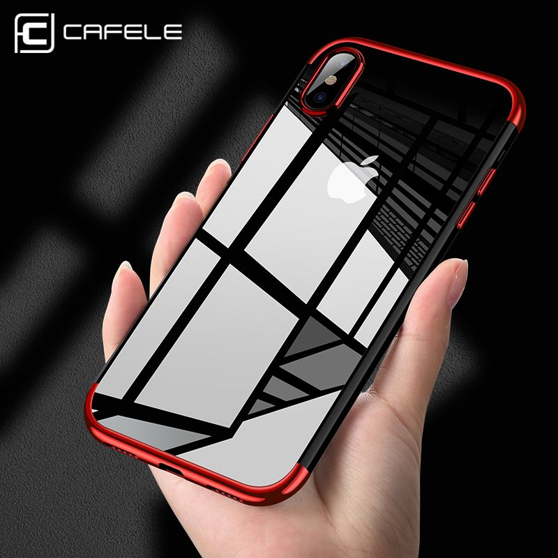 High-end Fashion Transparent plated back Shell for iPhone ...