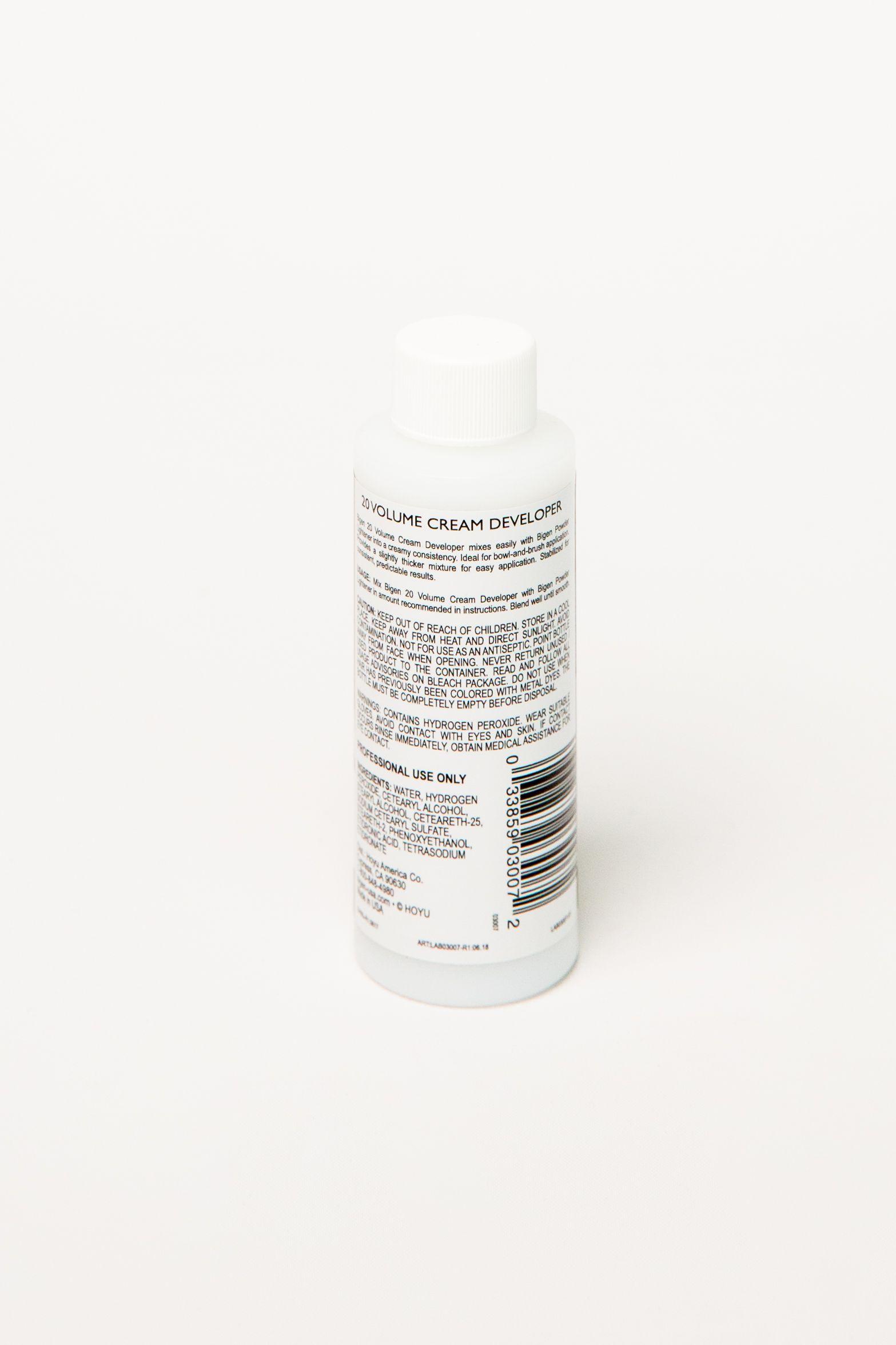 20 Volume Cream Developer How to lighten hair, How to