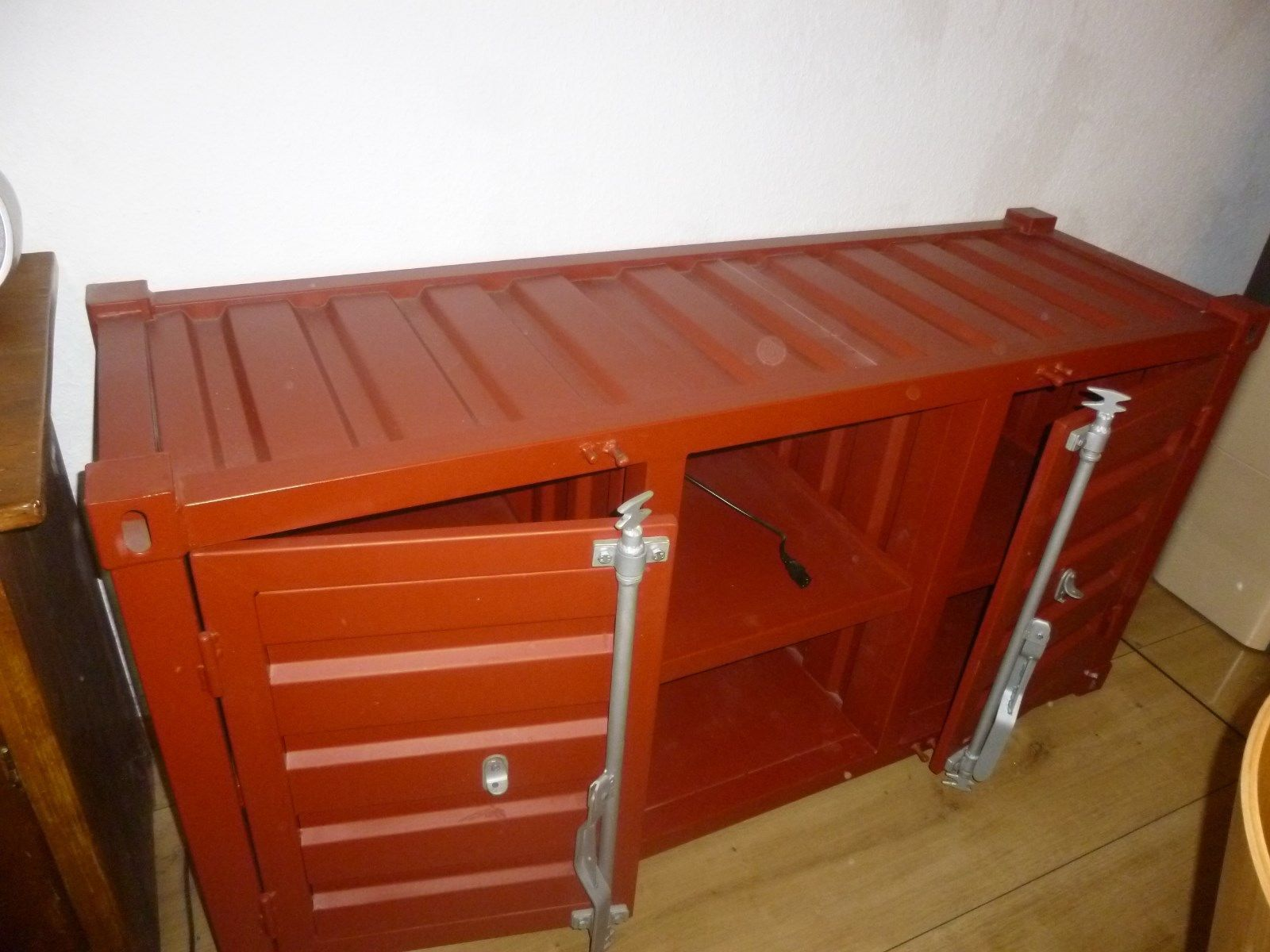 Container Sideboard Loft Lowboard Metallschrank Industrie Schrank