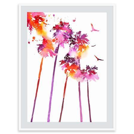 Summer Thornton - Un Beau Coucher de Soleil, Mounted Limited Edition Print, 50x60cm, $220 !!