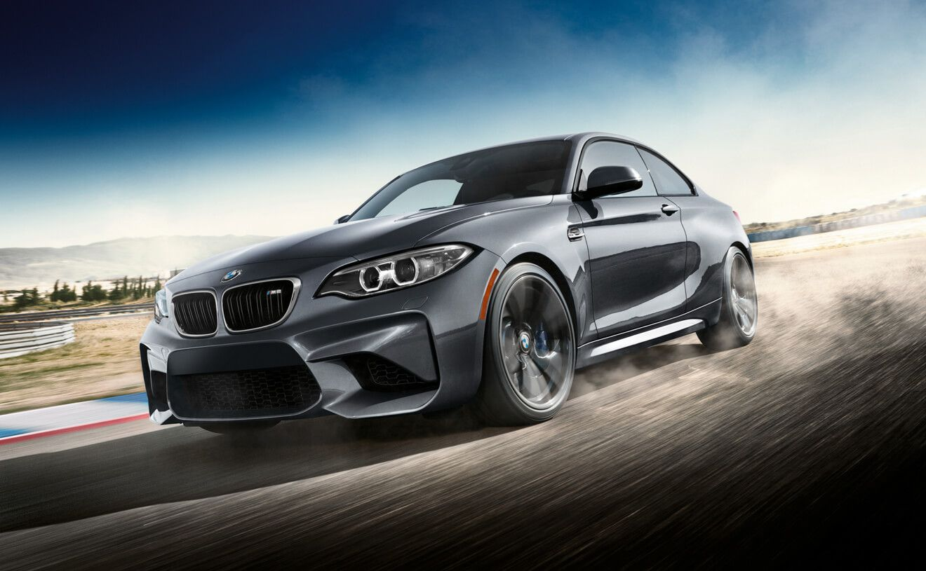 BMW M2 Coupe in Mineral Grey metallic with M-tuned exhaust ...