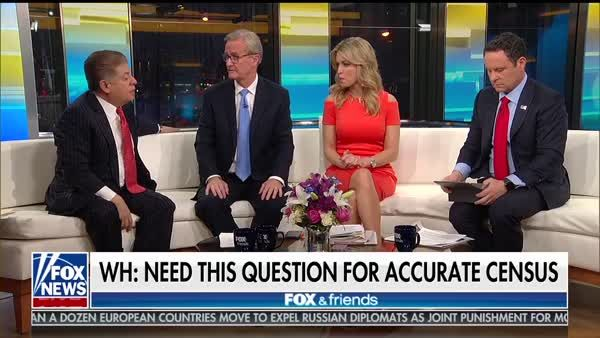 Fox And Friends Holds Constitutional \u0027Debate\u0027 On Citizenship Census