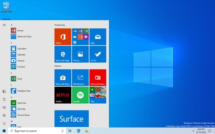 Microsoft's latest Windows 10 build kills passwords