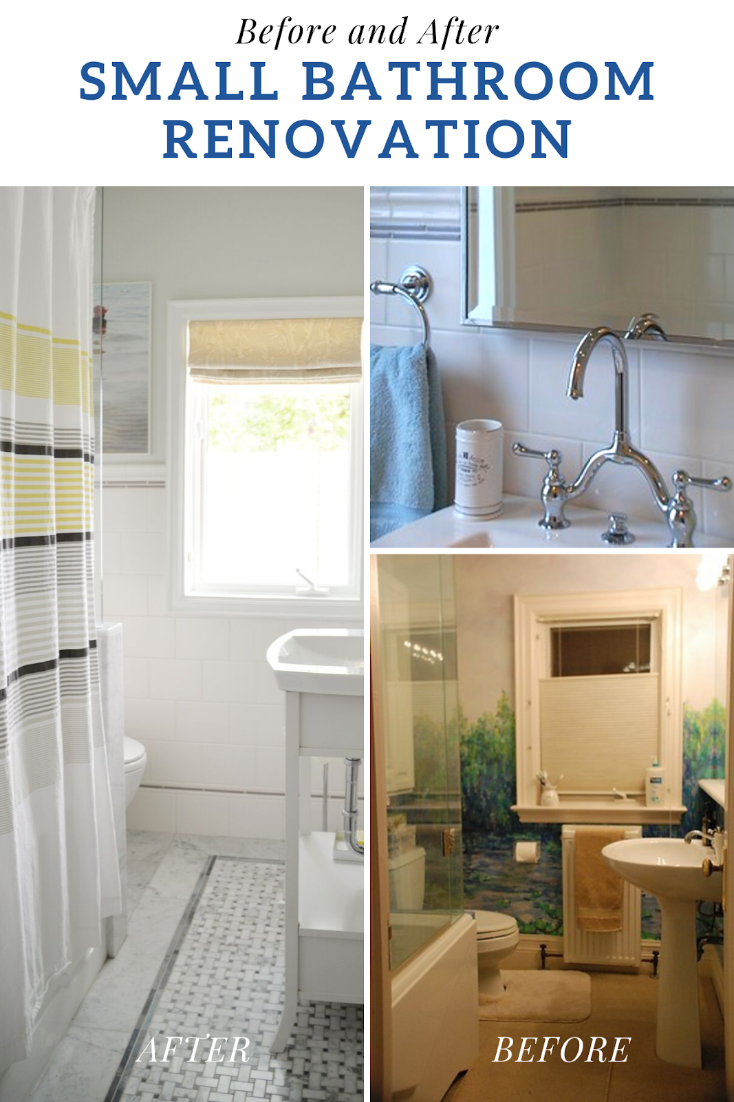 A Small Bathroom Renovation Before And After With Images Small