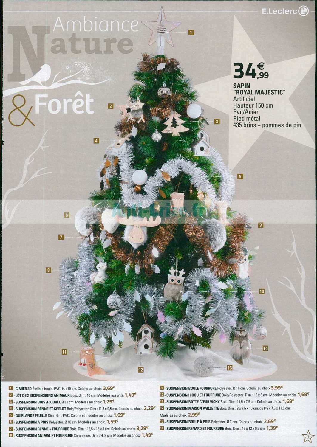 Sapin De Noel Artificiel Leclerc Catalogue Leclerc du 13 au 24 novembre 2018 (Idf Noël) | Catalogue