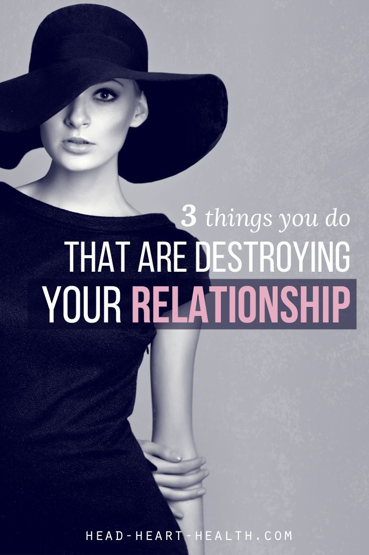 There are three things you are doing that are destroying your relationship. And the worst part is, these behaviours are so common, you might not even know you're doing them and the damage they are causing. Click for more on relationships, sex and dating.