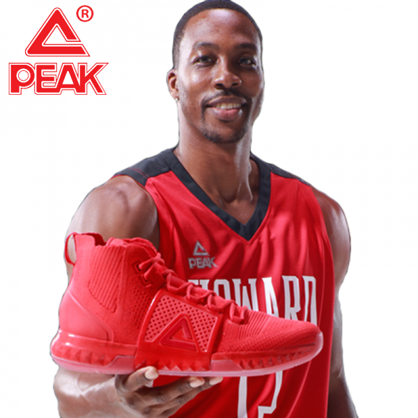 Pin By China Sportshop On Peak Dweight Howard Basketball Shoes Sports Shops Dwight Howard Red