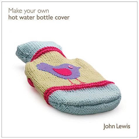 Buy John Lewis Knit Your Own Hot Water Bottle Cover Kit Online at johnlewis.com