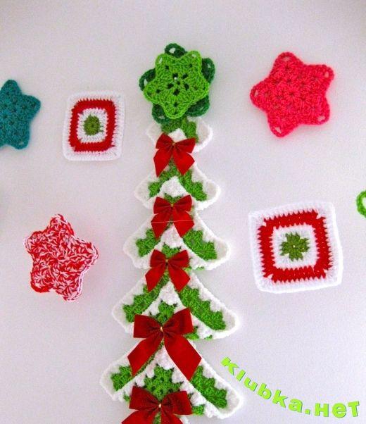 Новогодняя елка кпючком | Fátima | Pinterest | Cosas para hacer ...