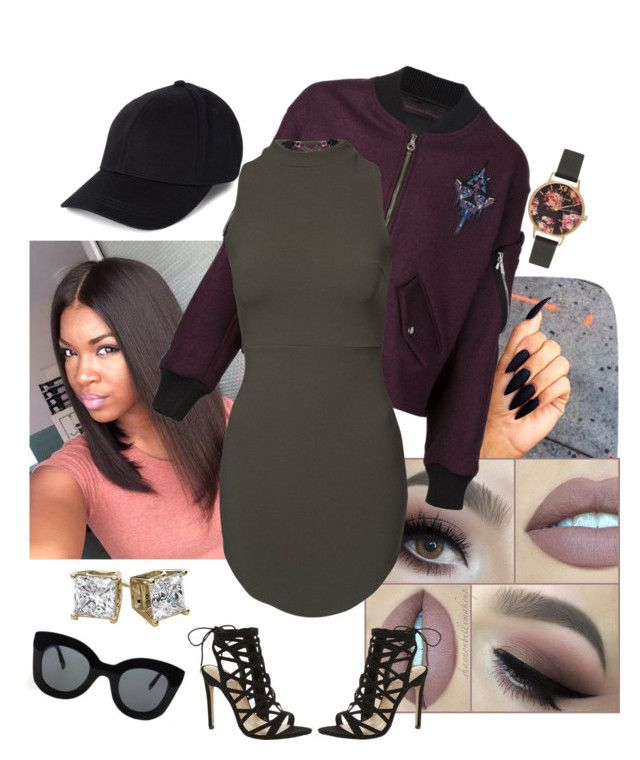 ❤️This Look by arikaijones on Polyvore featuring polyvore, fashion, style, Jean-pierre Braganza, Carvela Kurt Geiger, Olivia Burton, CÉLINE and clothing