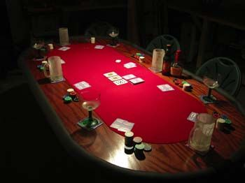 Building A Homemade DIY Poker Table