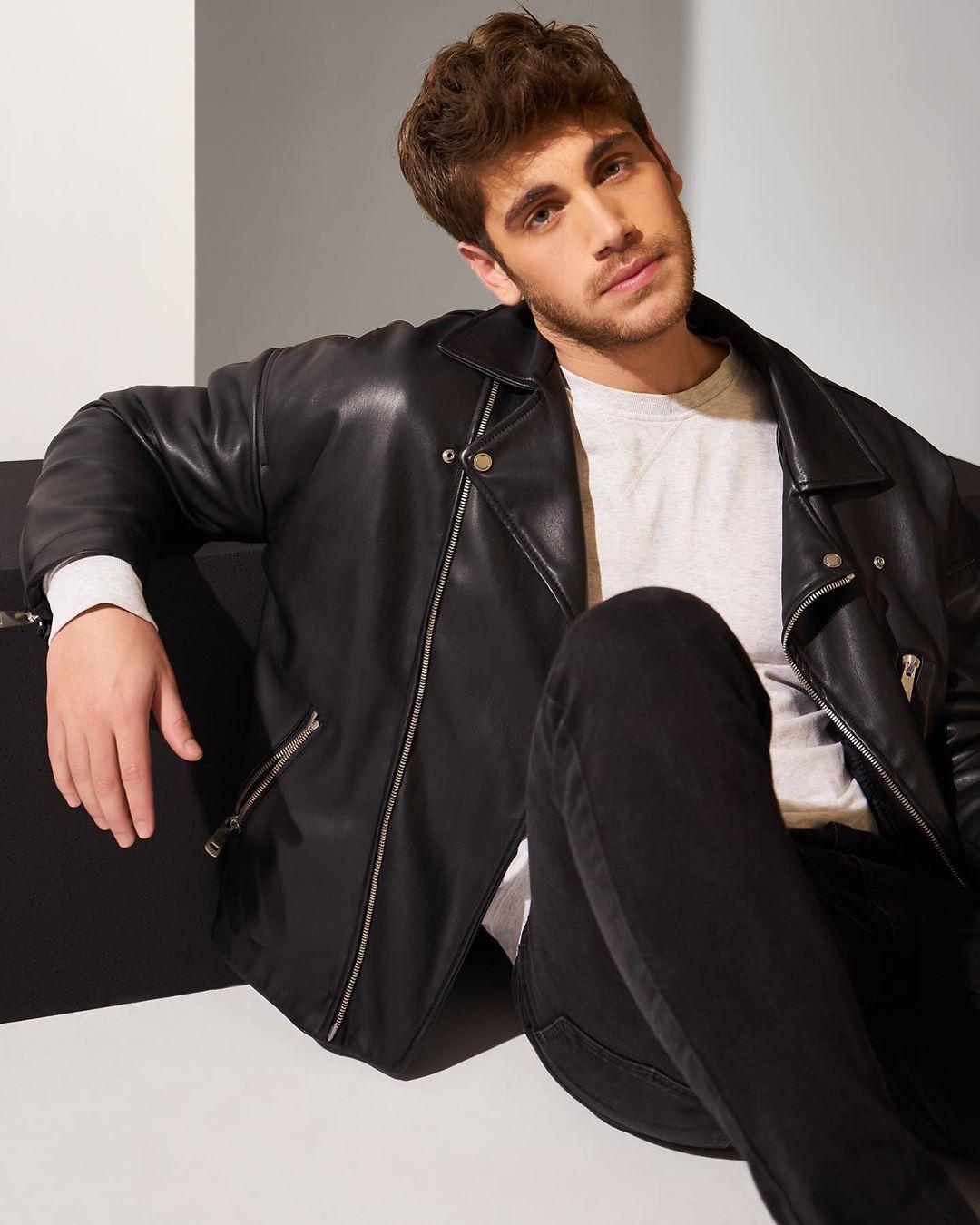 Instagram post by Emre Bey • Dec 4, 2019 at 5:00pm UTC in 2020   Turkish  actors, Leather jacket, Actors