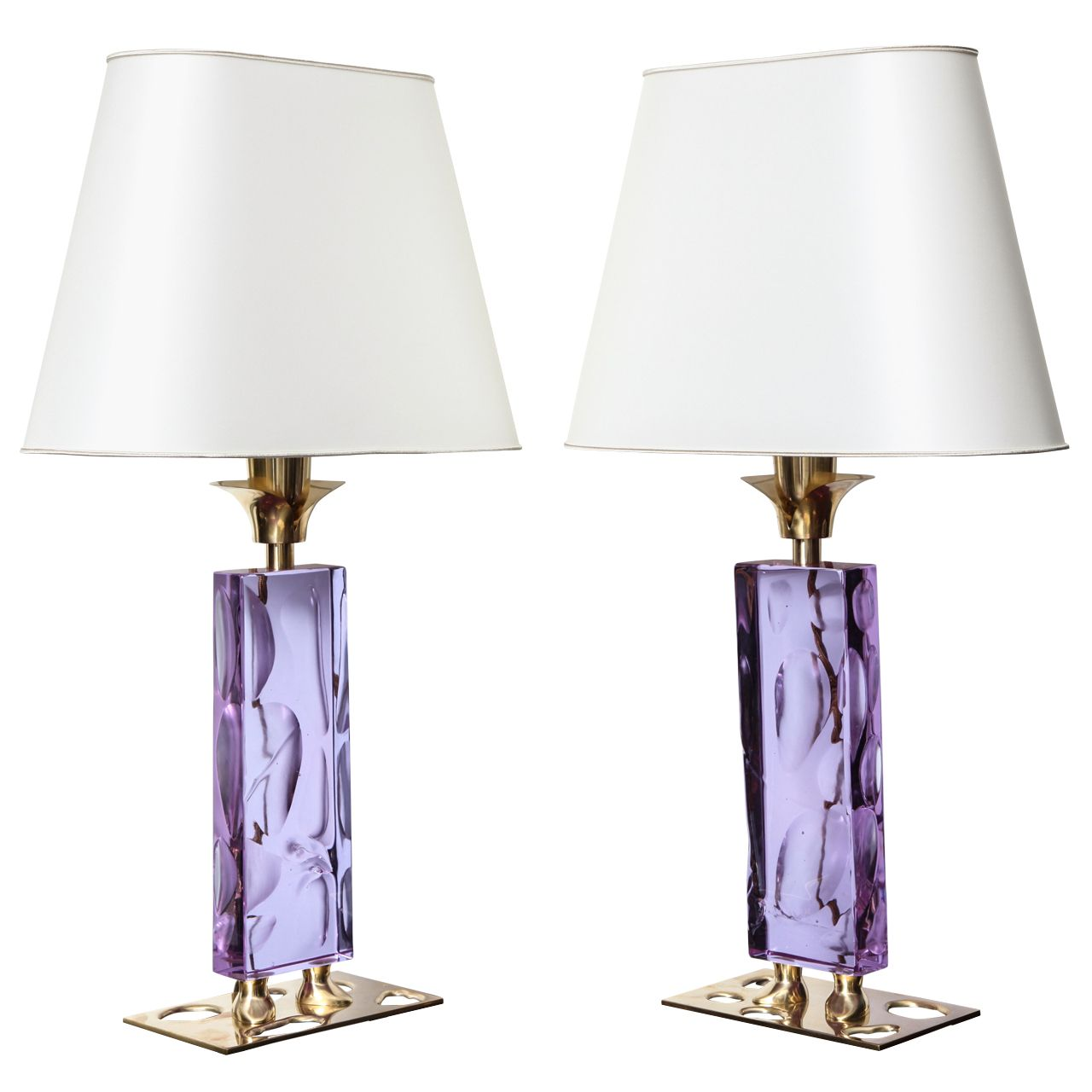 """Cool Cheap Lamps: """"Elfo,"""" Unique Pair Of Table Lamps By Roberto Giulio Rida"""