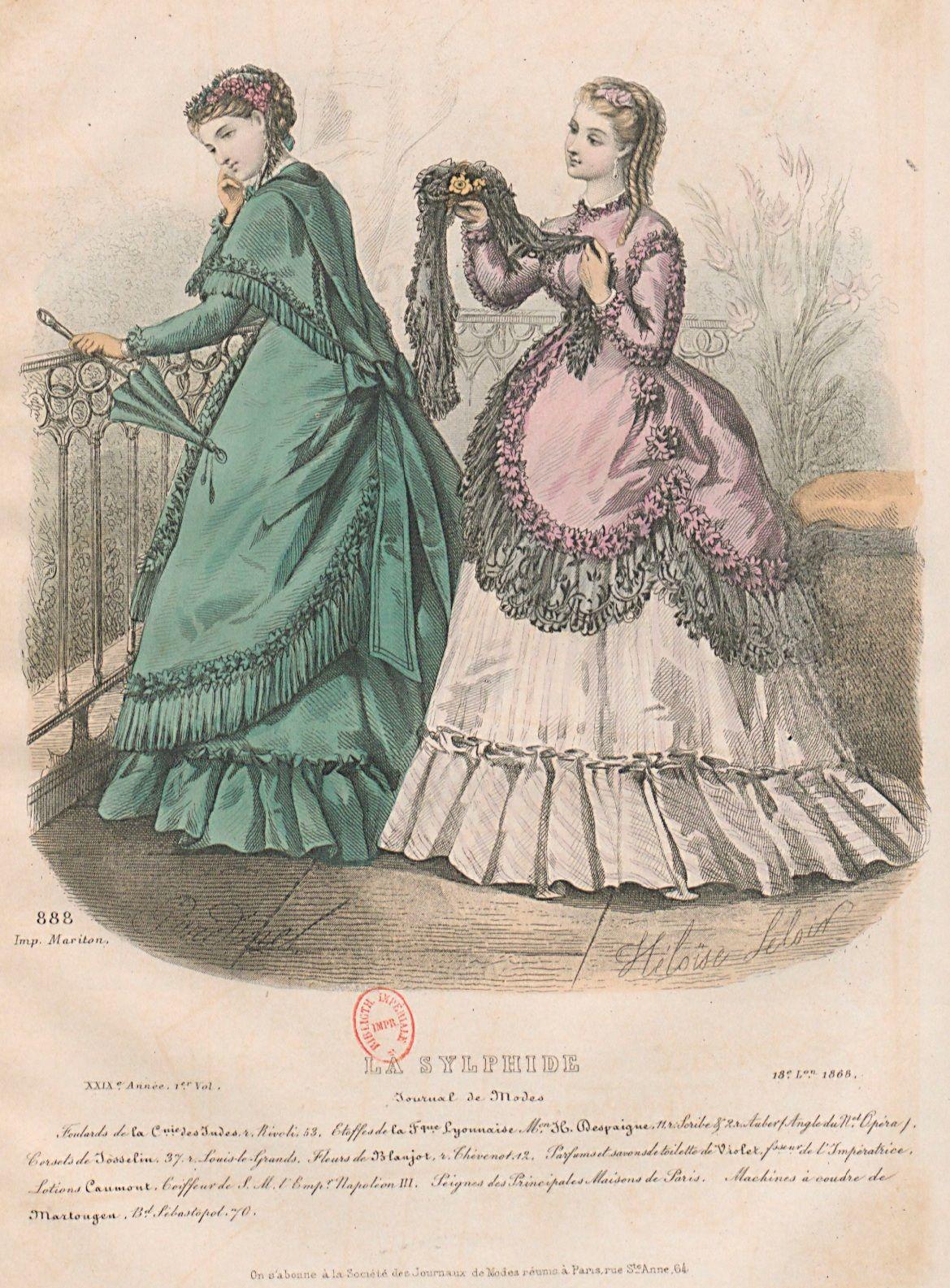 Maison Du Convertible Sebastopol 188 best 1868 fashion plates images in 2020 | fashion plates