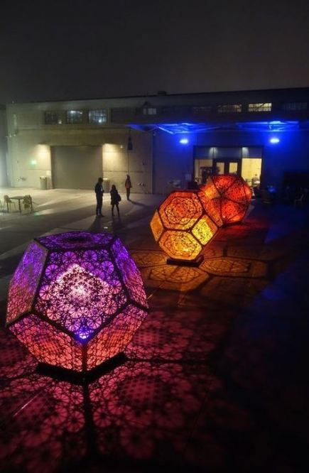 28 Best Ideas Origami Art Installation Sculpture #lightartinstallation
