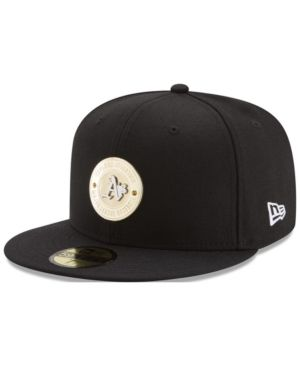best website 3b000 489b3 New Era Oakland Athletics Inner Gold Circle 59FIFTY Cap - Black 7 1 4