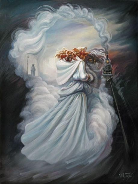 Leo Tolstoy from Oleg Shuplyak (b1967, Ternopil, Ukraine)