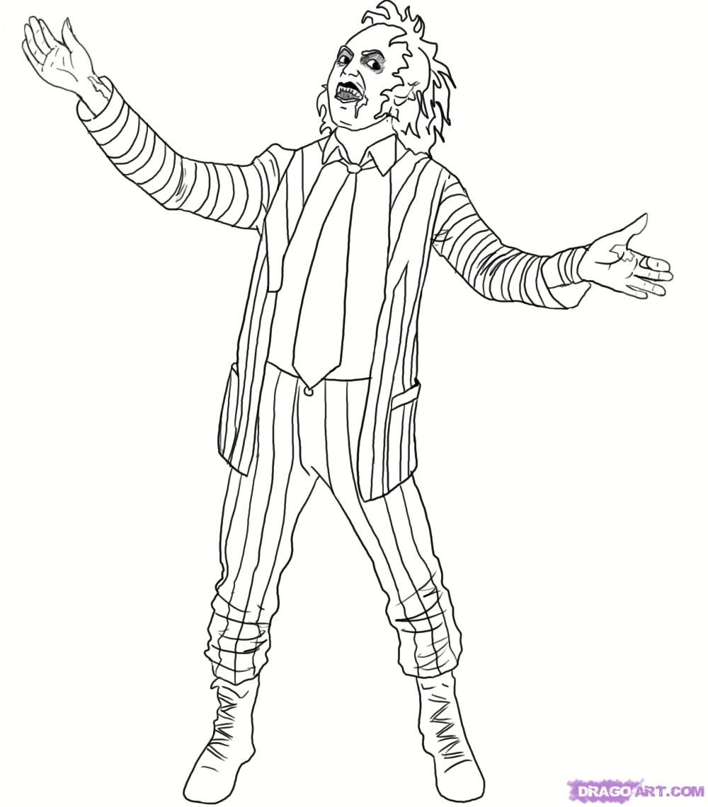 beetlejuice coloring pages Pin by jemma nicole 🌙 on Coloring Pages | Coloring pages  beetlejuice coloring pages