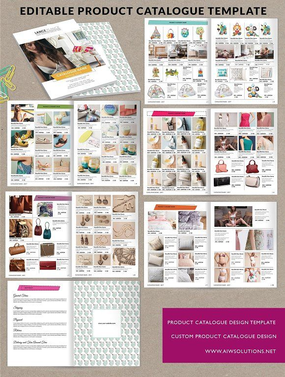 Product Brochure,Product Catalog id6 Pinterest Product brochure