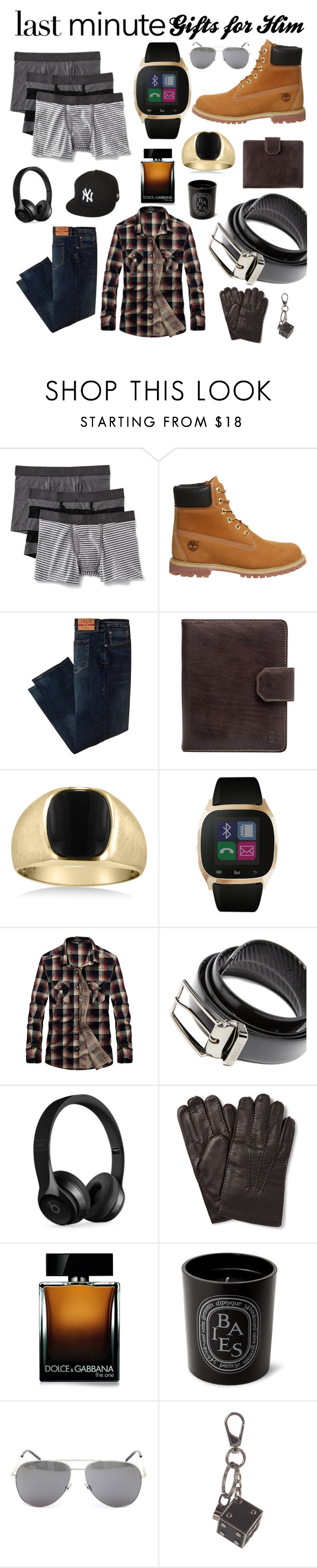 """""""Untitled #267"""" by classykyss ❤ liked on Polyvore featuring Old Navy, Timberland, Izod, Maxwell Scott Bags, iTouch, HUGO, Beats by Dr. Dre, Dolce&Gabbana, Diptyque and Yves Saint Laurent"""