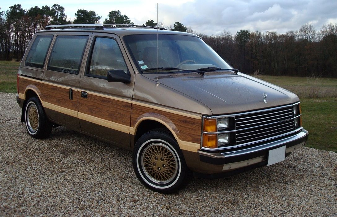 1985 Plymouth Voyager Plymouth Voyager Mini Van Chrysler