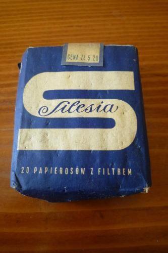 Papierosy Silesia Lata 60 Te Nieotwierane 4477968250 Oficjalne Archiwum Allegro Poland Country Poland History