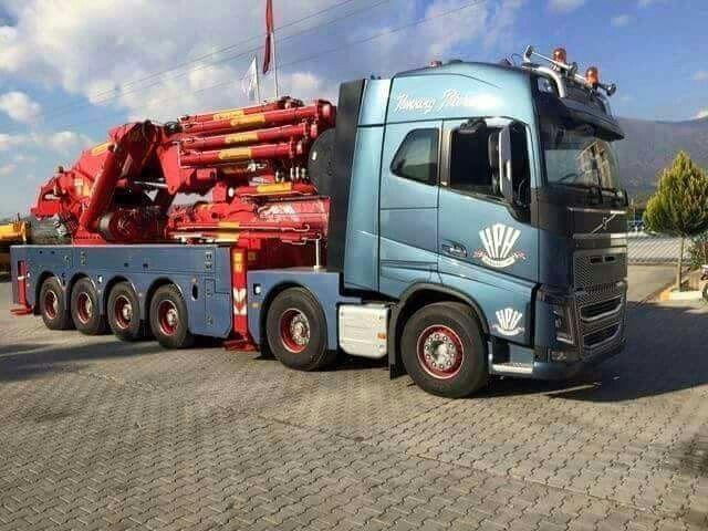 Volvo Fh Zwaar Autokraan Fahrzeuge Autos