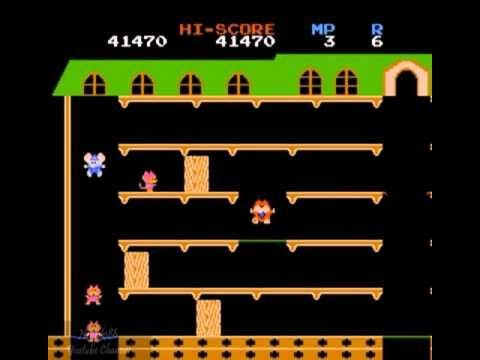 Mappy NES (All Rounds) once