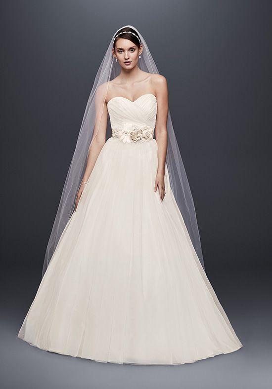 5af5f886c David's Bridal David's Bridal Collection Style WG3802 Ball Gown Wedding  Dress