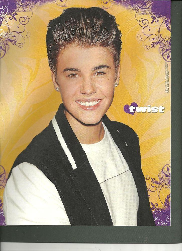 Justin Bieber, Full Page Pinup