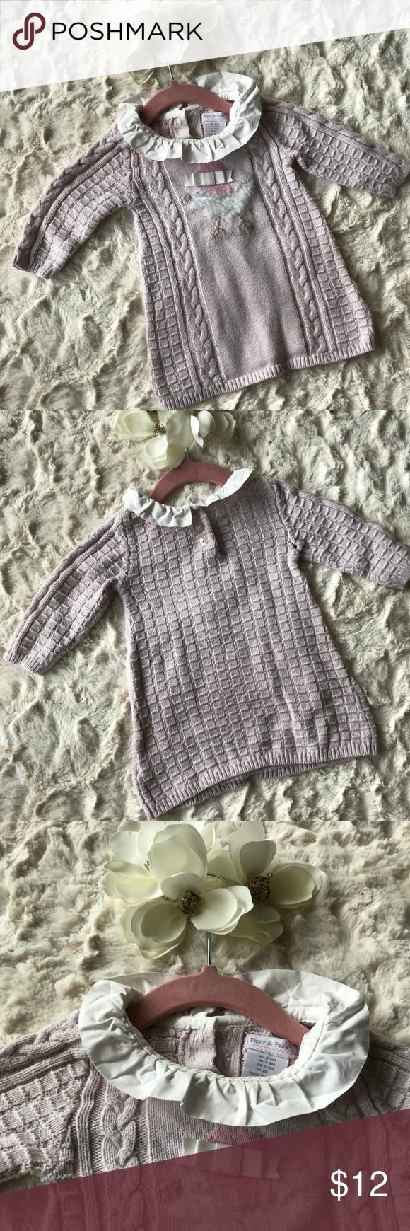 439bdaa4d Baby Girl sweater dress - Piper   Posie