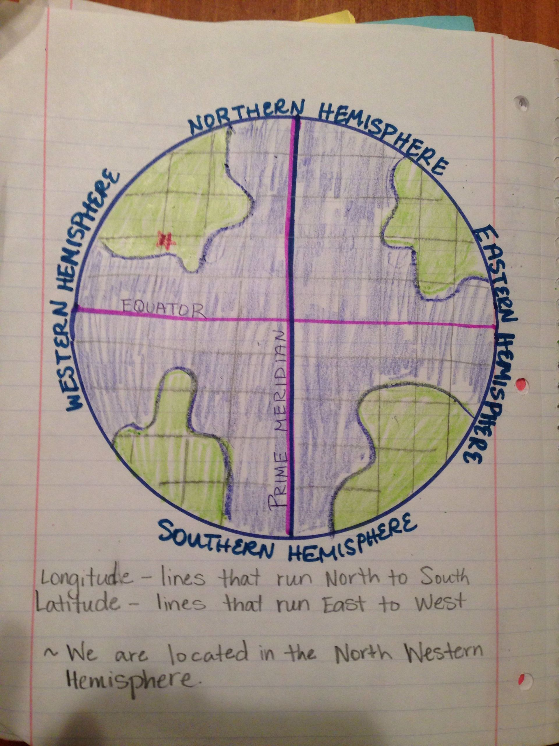 9 General Longitude And Latitude Worksheets In