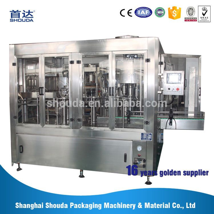 China best automatic 3 in 1 monoblock mineral bottle water