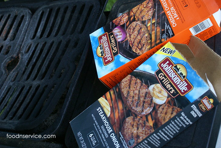 Johnsonville Grillers are adding a whole new level flavors to your grill this year! #SausageFamily