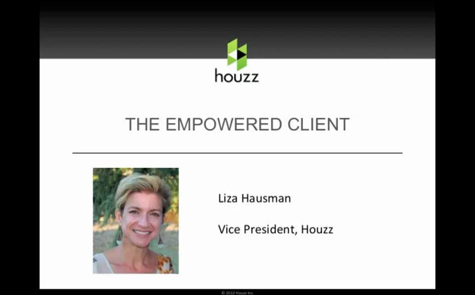 Webinar: Using Houzz to Market Your Business