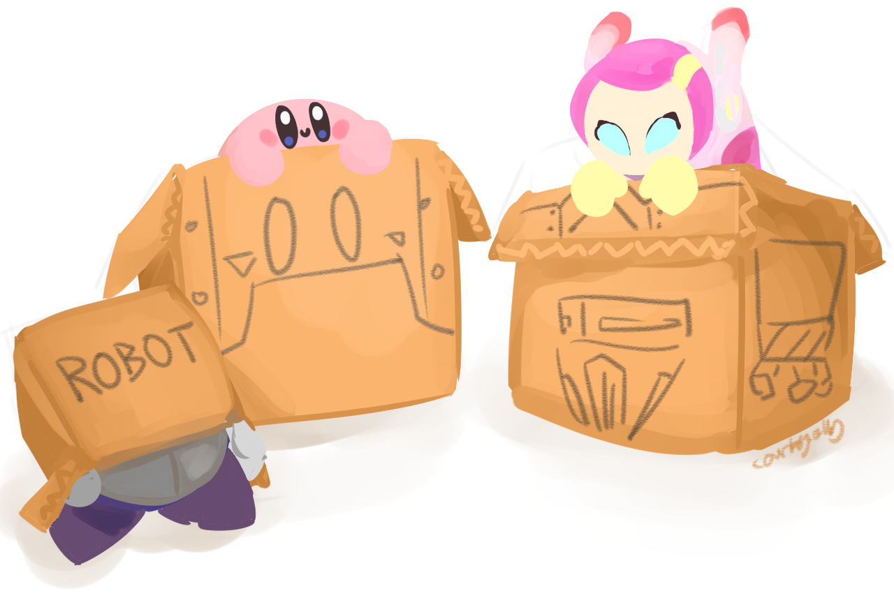 Create A Kirby Character Noll: If Nintendo Didn't Have Enough Funds To Make Planet