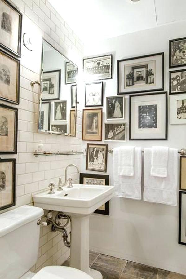 Beautiful Bathroom Decorating Ideas With Framed Art Prints Bathroom