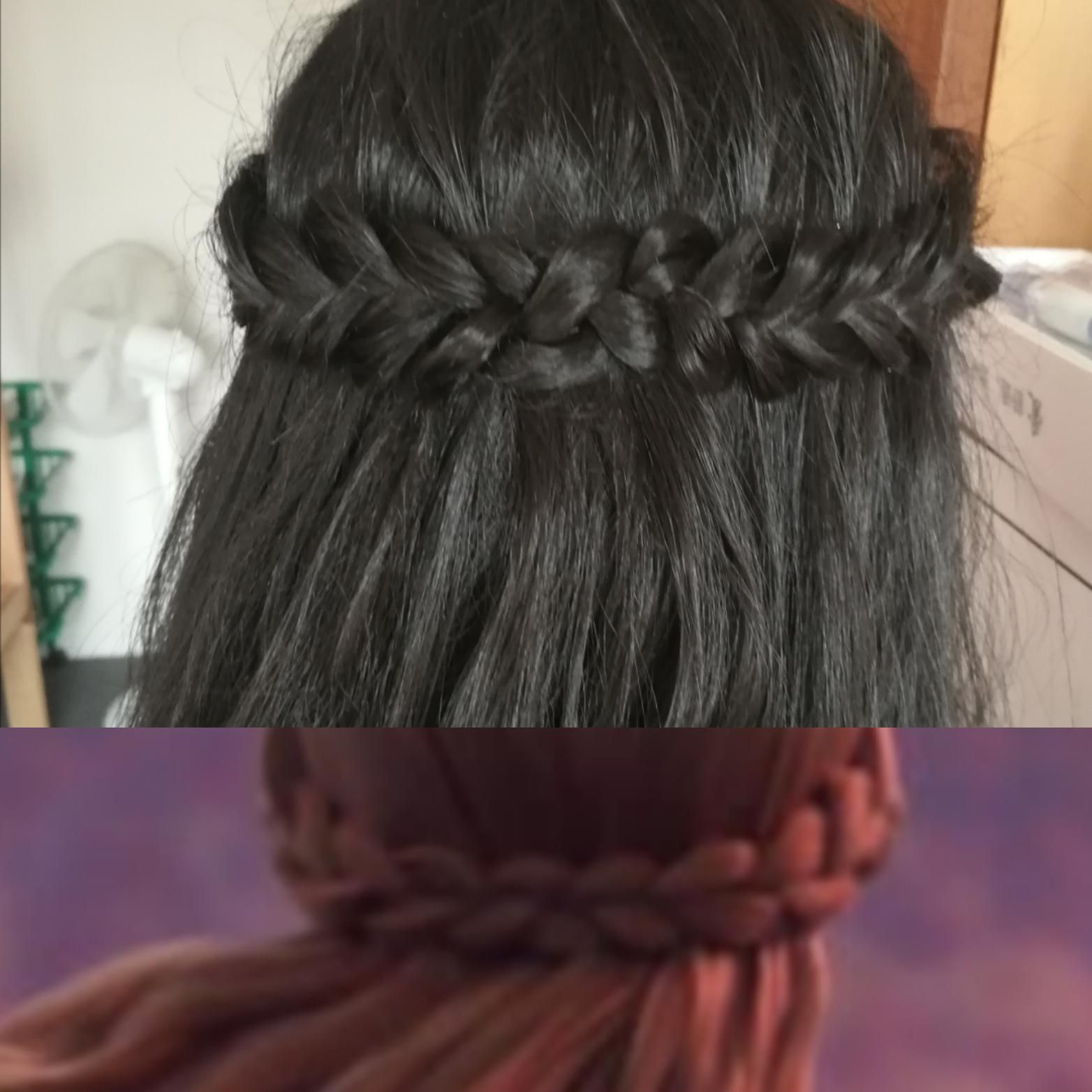 Frozen Hairstyles How To Anna S Coronation Updo Elsa S Braid Frozen Hair Tutorial Frozen Hair Frozen Hairstyles