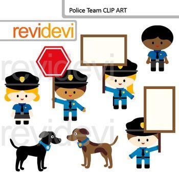 25+ Cute Police Dog Clipart