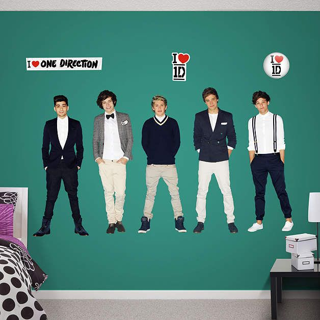 One Direction Collection Fathead Wall Decal