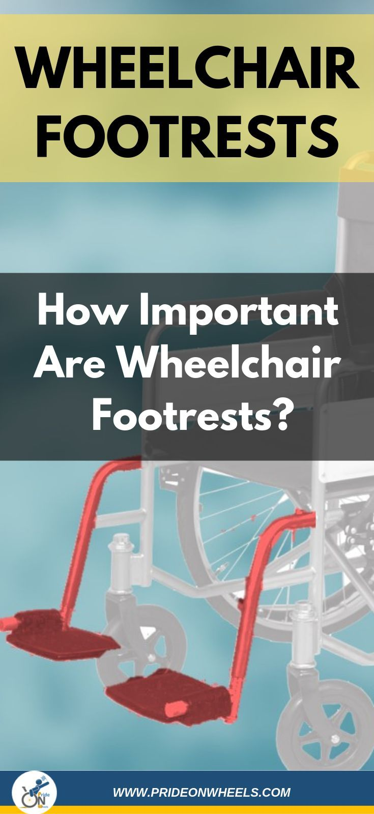 "Some wheelchair accessories/parts are ""taken for granted"